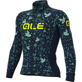 Alé Cycling Graphics PRR Versilia Winter LS Jersey Men navy blue